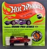 Mattel Hot Wheels Redline Red Shelby Turbine on