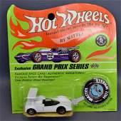 Mattel Hot Wheels Redline White Enamel Chapparel on