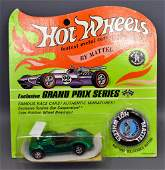 Mattel Hot Wheels Redline Green Chapparel on original
