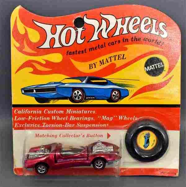 Mattel Hot Wheels Redline Rose Mod Quad on original