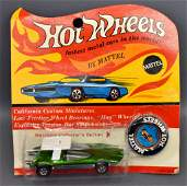 Mattel Hot Wheels Redline Green Swingin Wing on