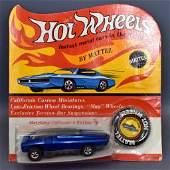 Mattel Hot Wheels Redline Blue Whip Creamer on