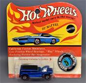 Mattel Hot Wheels Redline Blue Prowler on original
