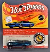 Mattel Hot Wheels Redline Aqua Peepin Bomb on original