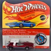 Mattel Hot Wheels Redline Rose Swinging Wing on