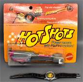 Group of two Mattel Hot Wheels Items