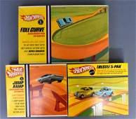 Group of three Mattel Hot Wheels Redlines Accessory