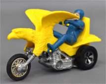 Mattel Rrrumblers Redline era Yellow Bold Eagle with