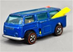 Mattel Redline Hot Wheels Blue Beach Bomb with dark