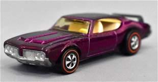 Mattel Redline Hot Wheels Magenta Oldsmobile 442