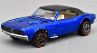 Mattel Redline Hot Wheels US Blue Custom Camaro