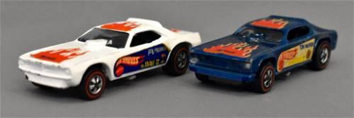 Mattel Redline Hot Wheels Mongoose & Snake pair