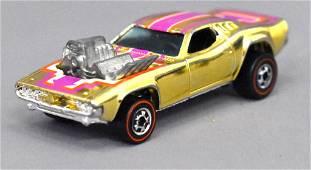 Mattel Redline Hot Wheels Gold Chrome Rodger Dodger