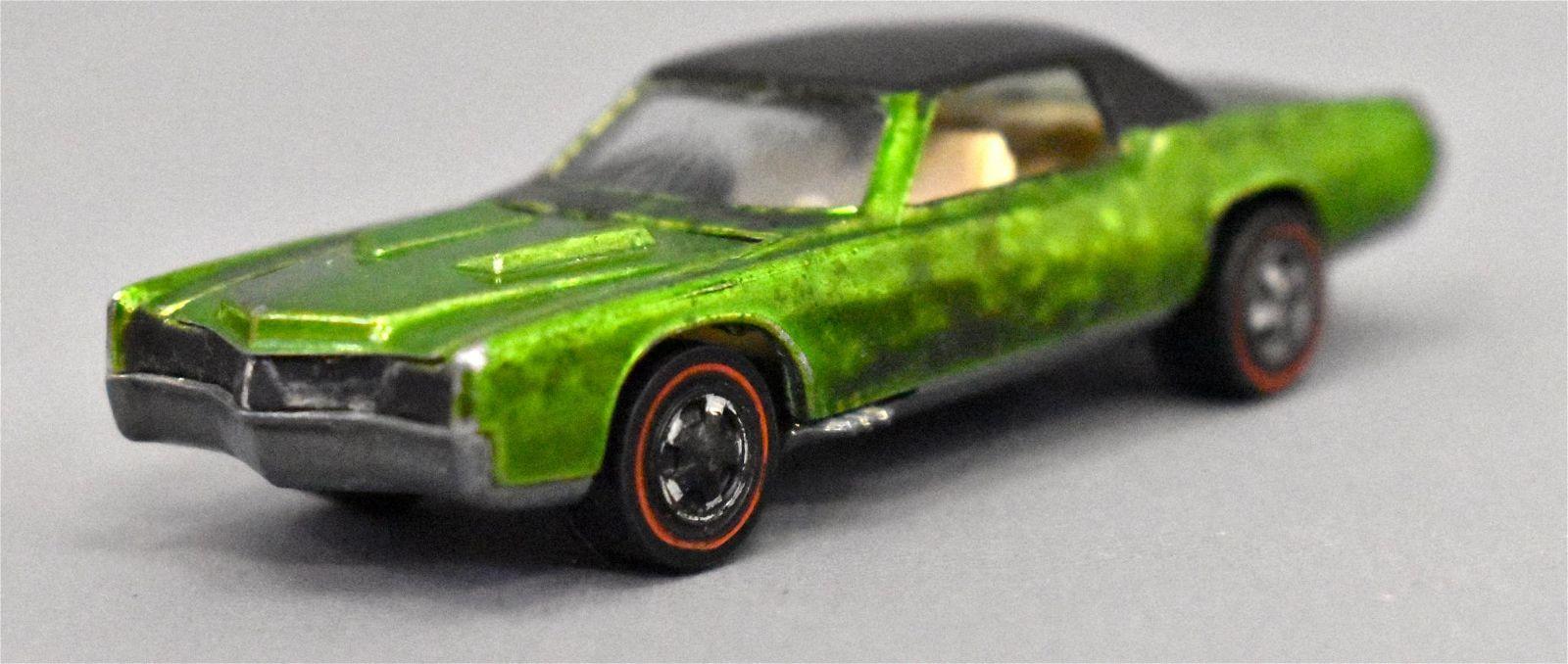 Mattel Redline Hot Wheels Light Green Custom Eldorado