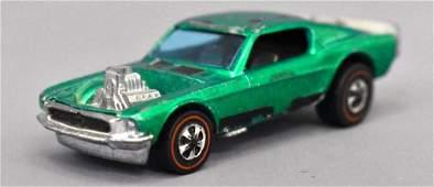 Mattel Redline Hot Wheels Green Boss Hoss