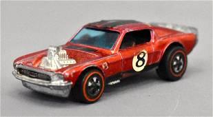 Mattel Redline Hot Wheels Red Boss Hoss