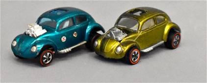 Group of two Mattel Redline Hot Wheels Custom