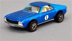 Mattel Redline Hot Wheels Blue Custom AMX