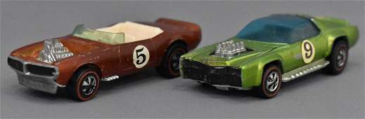 Group of two Mattel Redline Hot Wheels Sugar Caddy