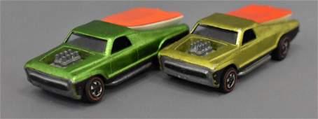 Group of two Mattel Redline Hot Wheels Seasiders