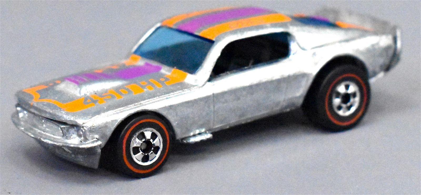 Mattel Redline Hot Wheels Chrome Mustang Stocker