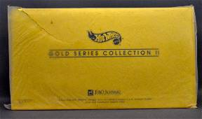 Mattel Hot Wheels FAO Schwarz Gold Series Collection
