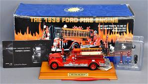 Franklin Mint 1/32 1938 Ford fire engine in original
