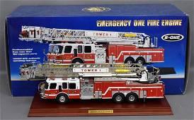 Franklin Mint 1/32 Emergency One HP 105 platform fire