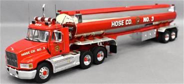 Franklin Mint 1/43 die cast Mack water tanker Hose Co 3