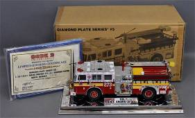 Code 3 FDNY Engine Co 273 Mets Seagrave pumper 1/32 die