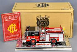 Code 3 Chicago Fire Dept Engine 59 in original box