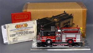 Code 3 1/32 die cast Chicago Fire Dept Luverne pumper