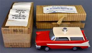 Mint Lionel postwar O gauge 68 executive inspection car