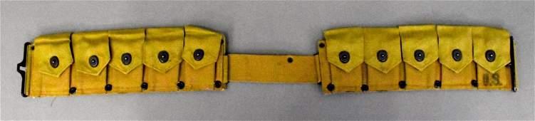 US WWII military M1 M-1 Garand Rifle ammunition web