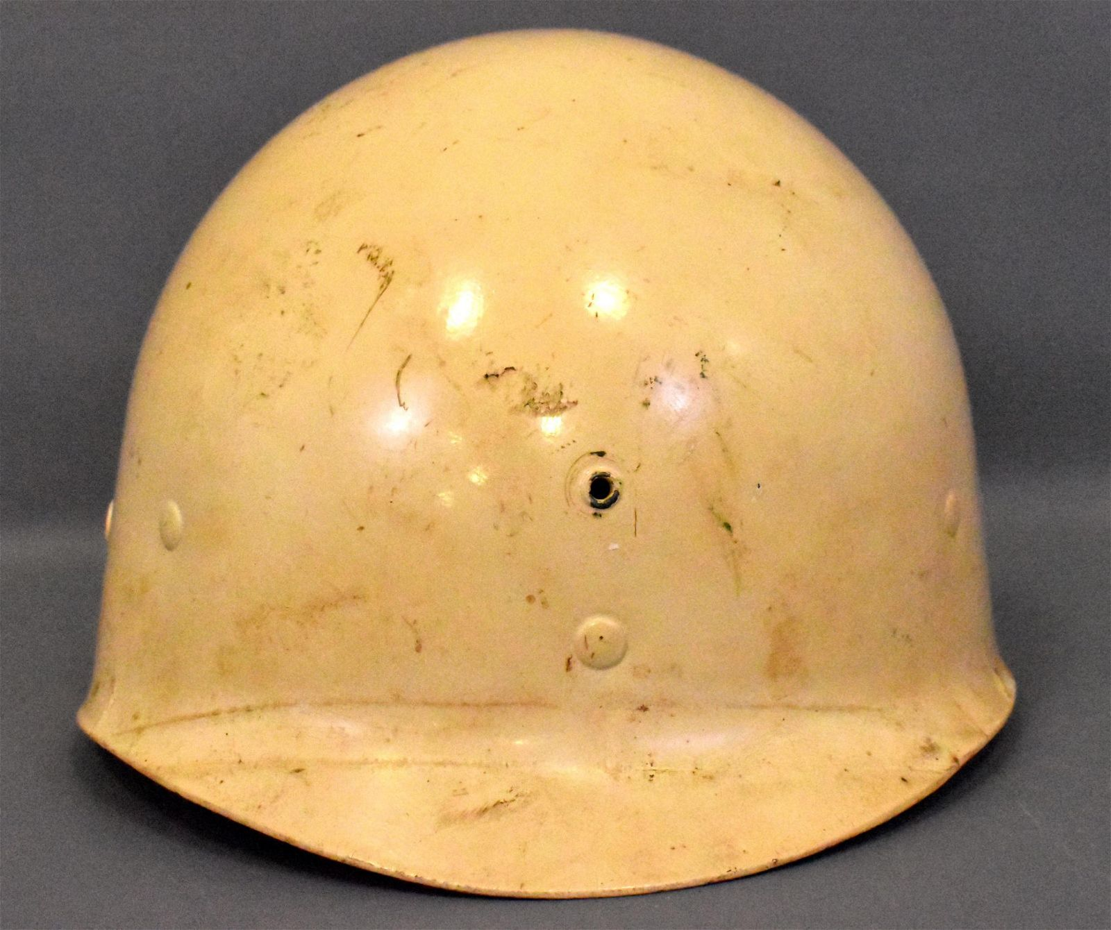 US military WWII Army white MP M1 helmet liner