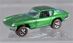 Redline Hot Wheels green Maserati Mistral HK