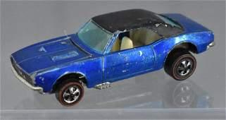 Redline Hot Wheels blue Custom Camaro HK