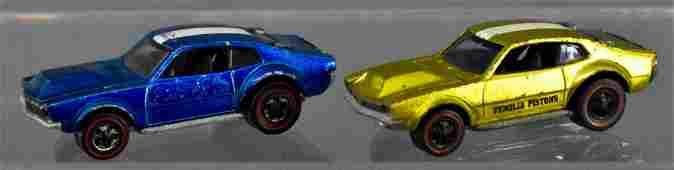 Two Redline Hot Wheels Mighty Maverick US