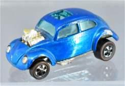 Redline Hot Wheels blue custom Volkswagen HK