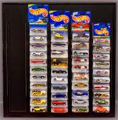 1996-98 Hot Wheels Treasure Hunt sets on sealed blister