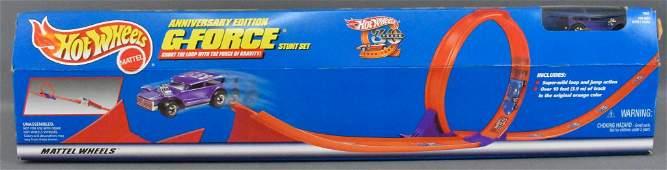 1997 Hot Wheels Anniversary Edition GForce stunt set