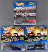 Three Hot Wheels Action Pack sets MIB Team Knight Rider