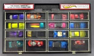Fantastic Sweet Sixteen set of Redline Hot Wheels in