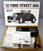 Unbuilt Monogram 1/8 scale '32 Ford Street Rod model