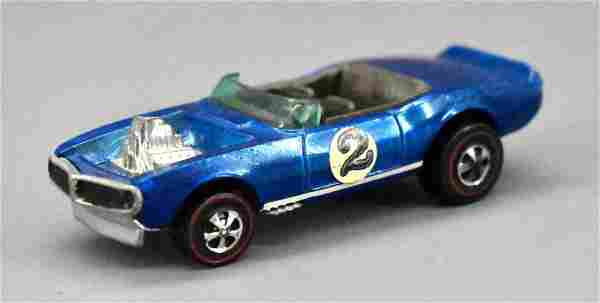 Redline Hot Wheels BLUE HK Light My Firebird