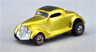 Redline Hot Wheels GOLD Classic '36 Ford coupe