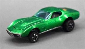Redline Hot Wheels GREEN HK Custom Corvette