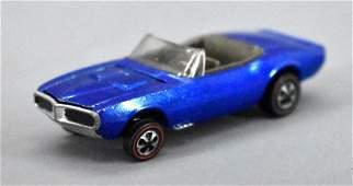 Redline Hot Wheels BLUE US Custom Firebird