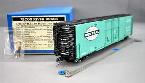 Pecos River O scale brass factory painted New York