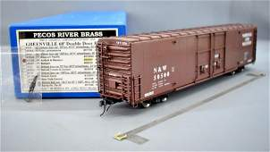 Pecos River O scale brass factory painted Norfolk &